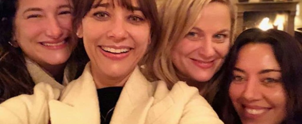 The Ladies of Parks and Rec Reunited For an IRL Galentine's Day, and Wow, My Heart