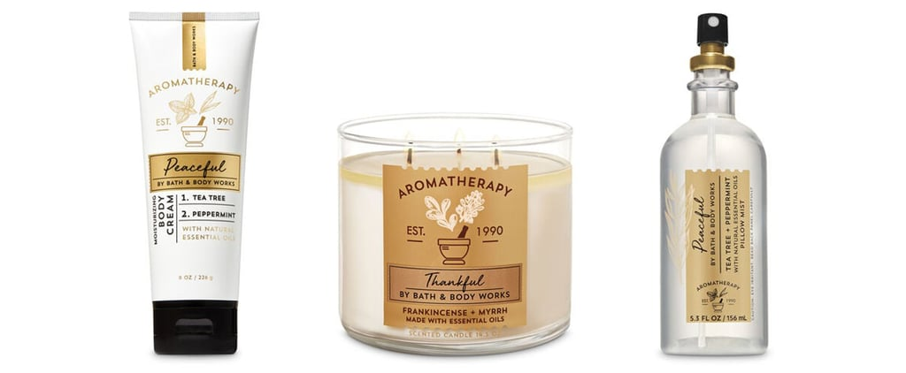 Bath and Body Works's Self Care and Aromatherapy Products