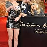 Amber Valletta, Derek Blasberg, and Miss Piggy