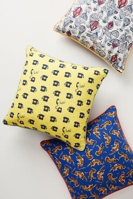Literal Leopard Colloquial Pillows