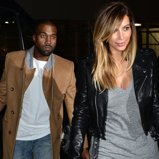 Kim Kardashian's Painted Birkin From Kanye West | Pictures