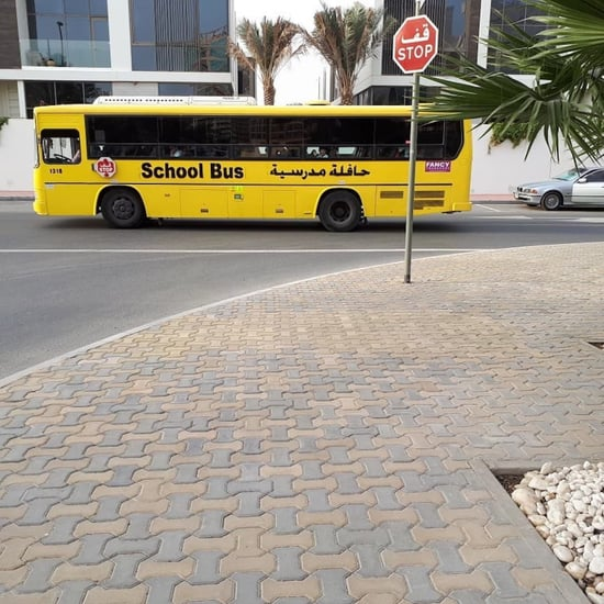 UAE Fine For Overtaking School Bus