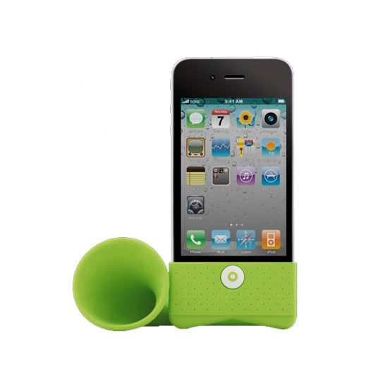 Bone iPhone Horn Stand