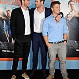 Chris Hemsworth and His Brothers at the LA Vacation Premiere