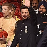 Bollywood Actor Anil Kapoor Also Wore a Black Indian Outfit