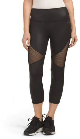 X by Gottex All Over Pleather Capris