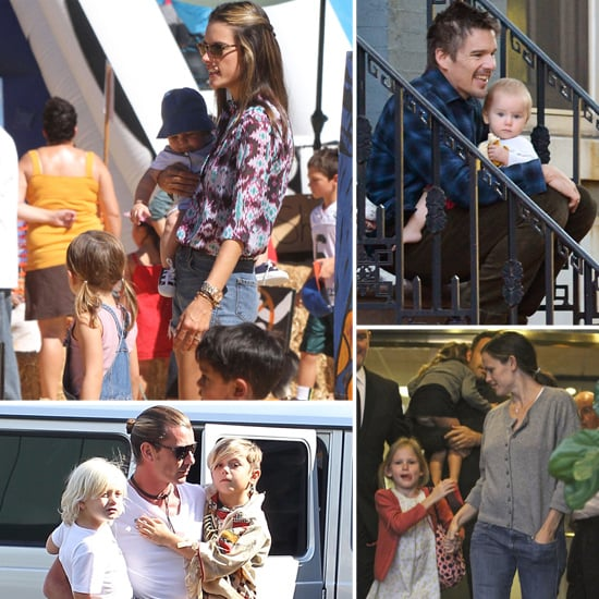 Celebrity Family Pictures Week of Oct. 15, 2012