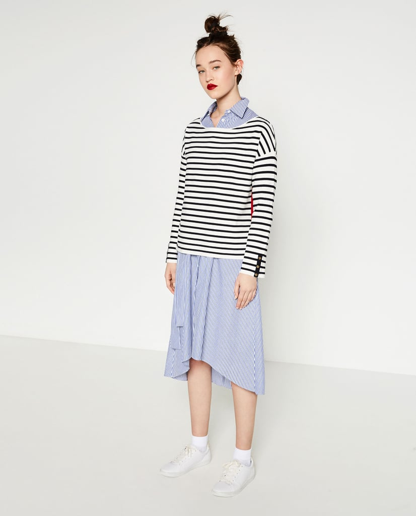 Zara Striped Sweater ($40)