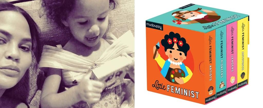 Chrissy Teigen Reads Luna Little Feminist Book