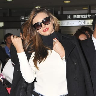 Miranda Kerr Looking Stylish At The Airport