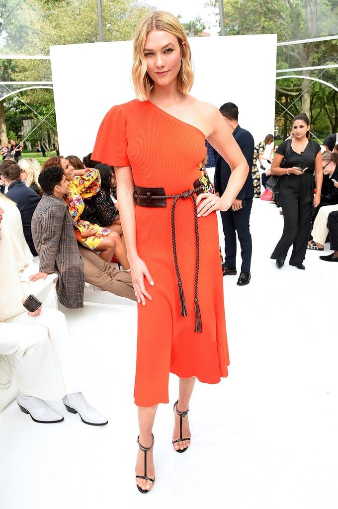 Karlie Kloss at the Carolina Herrera New York Fashion Week Show
