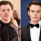 Harry Styles and Charlie Heaton