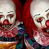 Abstract Pennywise Makeup