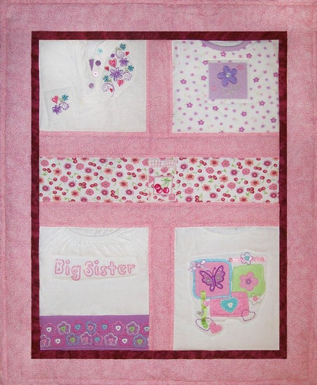 Kids' Clothes Quilt