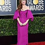 Isla Fisher at the Golden Globes 2020