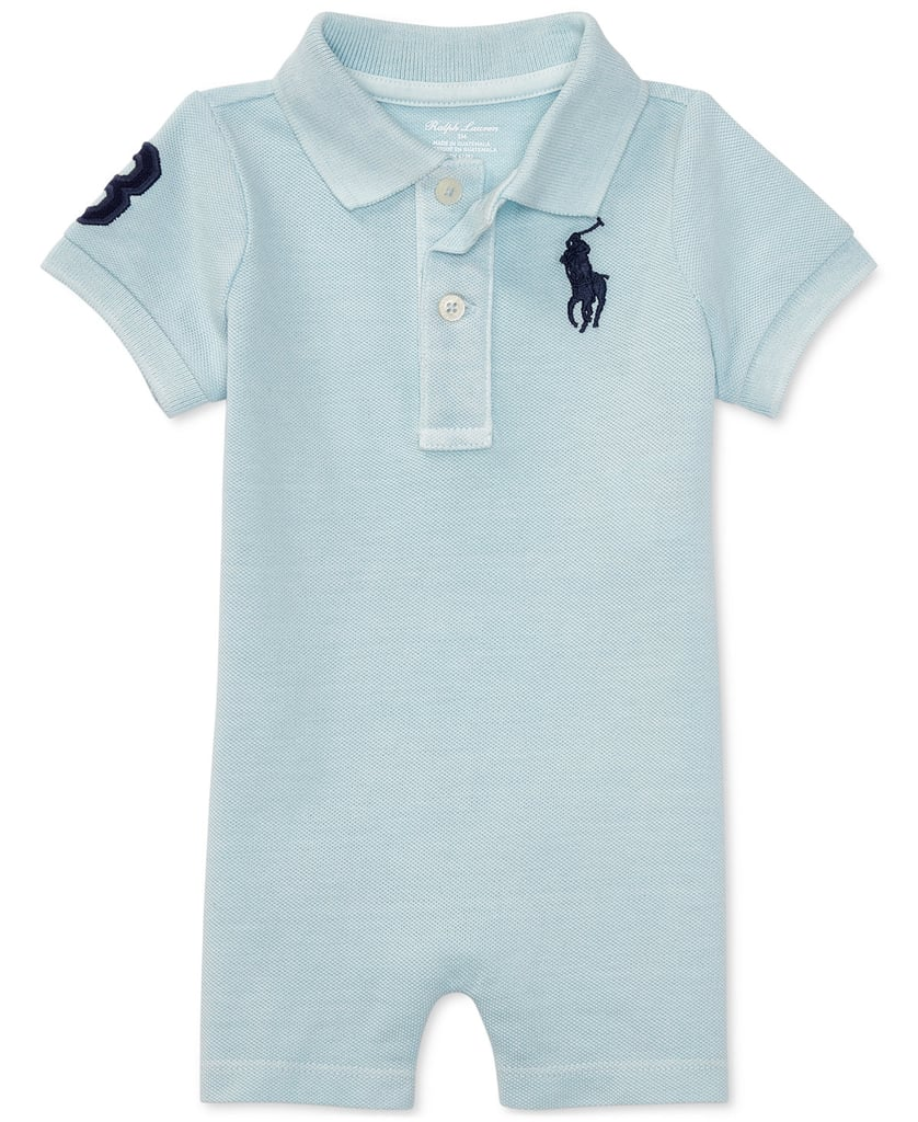 Ralph Lauren Cotton Polo Romper