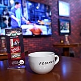 Clips from the show play on TVs throughout the pop-up, and the complimentary coffee is served in themed mugs.