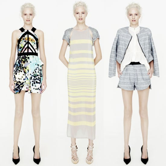 Worth a Snoop: Manning Cartell's Spring 2012 Look Book. Crop Tops, Metallic Suiting, Wrap Minis; We Want It All!