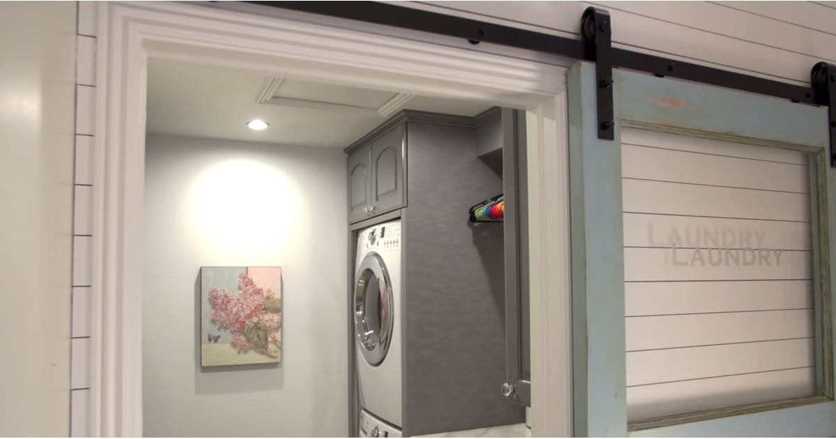 How a Mom of 6 Created the Most Efficient Laundry Room Ever