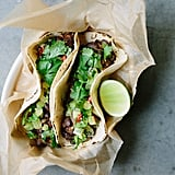 Black Bean Tacos With Kiwi Salsa