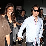Tom Cruise Steps Out to Support Katie Holmes's Scary Movie