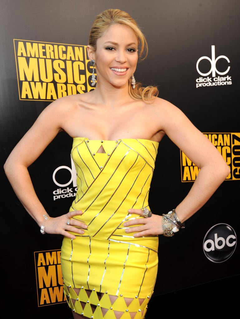 Phrase removed shakira yellow dress