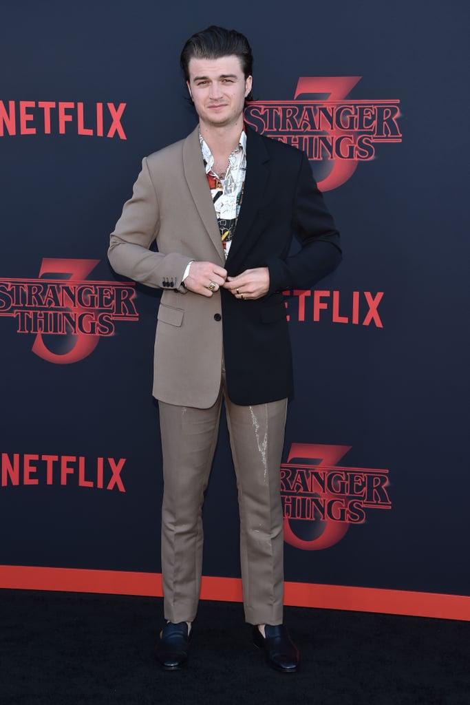 Joe Keery at Stranger Things Season 3 Premiere