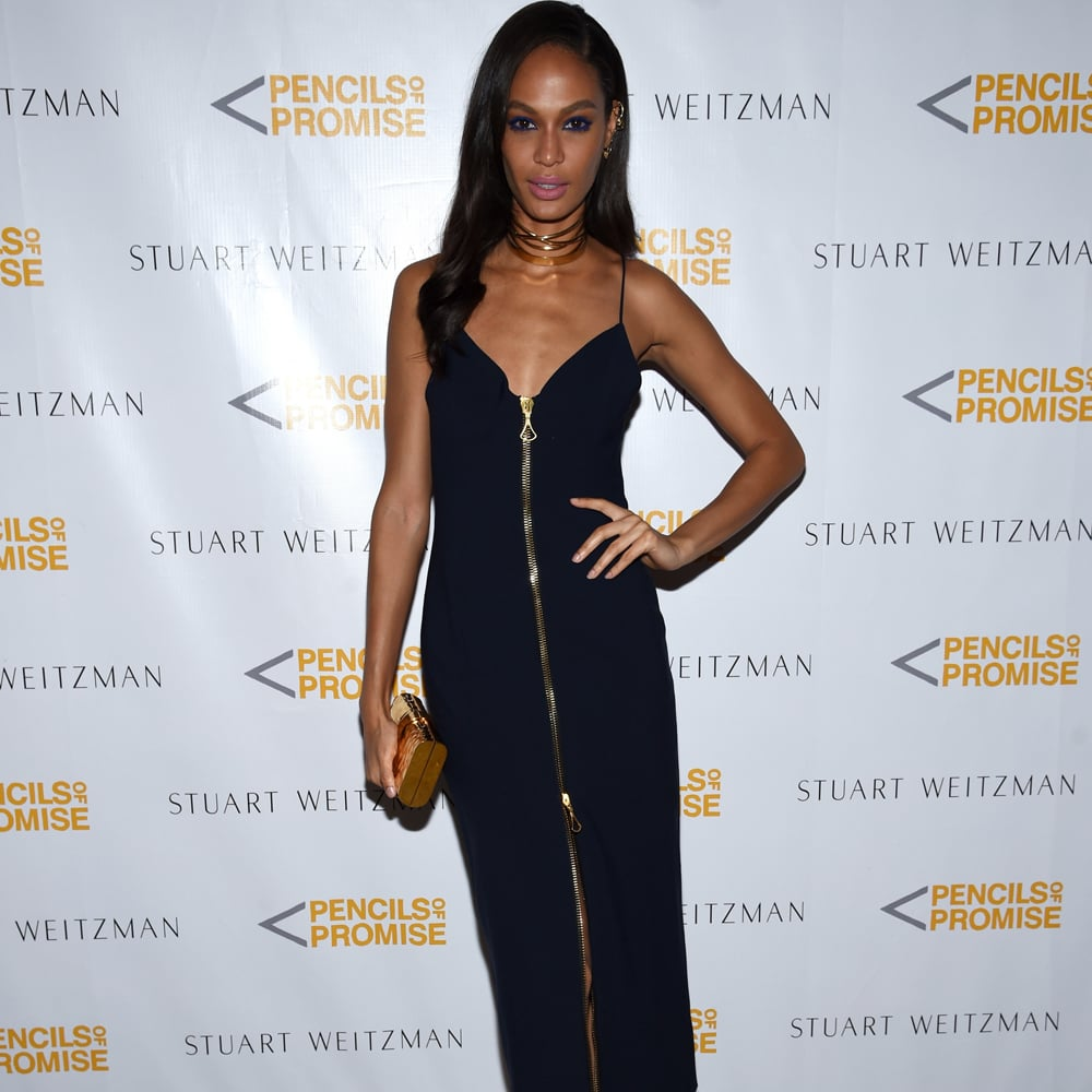 Is Joan Smalls Wearing Invisible Heels in These Paris Fashion WeekPhotos forecast