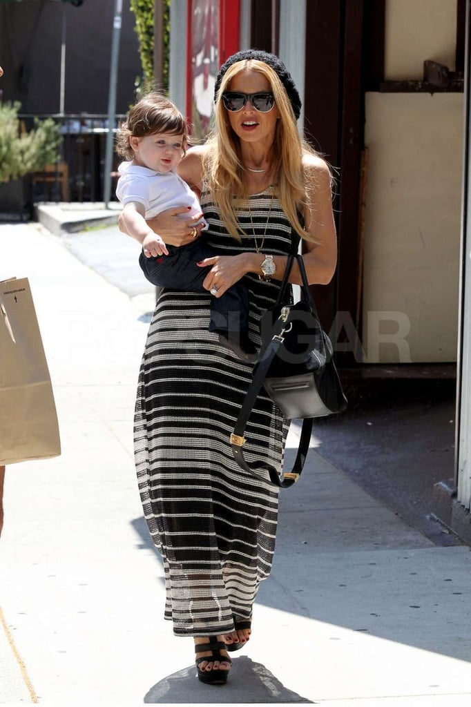 Rachel Zoe spent some quality time at lunch with Skyler.