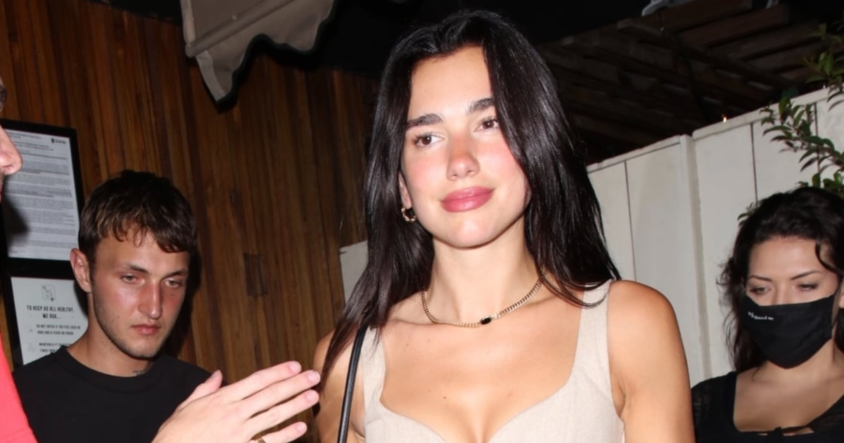 We're Pretty Sure Dua Lipa Just Wore a Pocket Watch to a Party