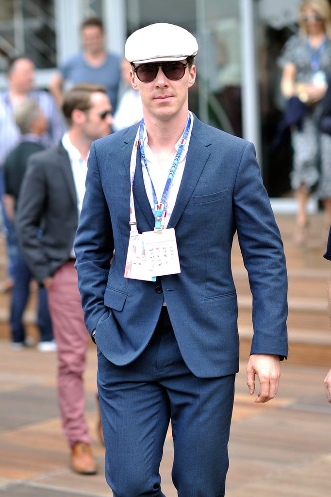 Benedict Cumberbatch attended the Monaco Formula One Grand Prix in Monte Carlo in Monaco on Sunday.