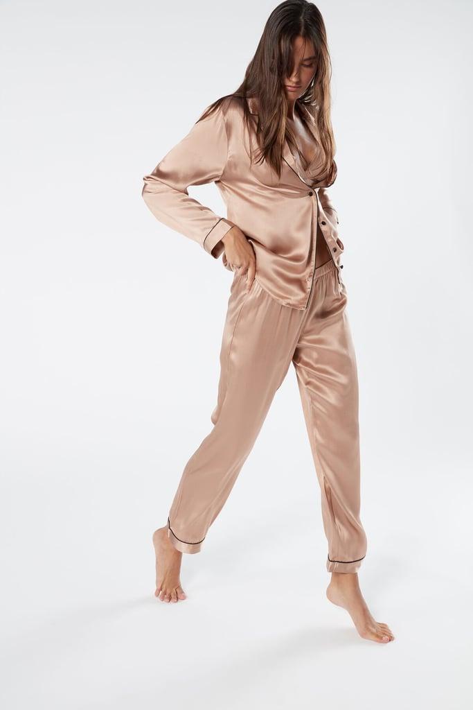 Silk Satin Pajama Pants