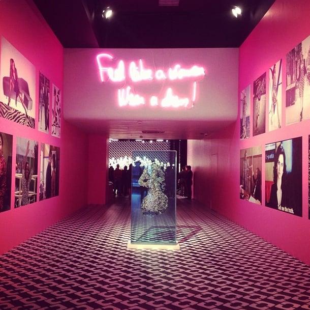 Few things make you feel like a woman like a Diane von Furstenberg wrap dress. Source: Instagram user dvf