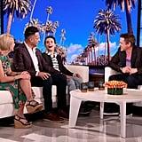 Watch Robert Downey Jr. Meet a Fan With Autism on Ellen