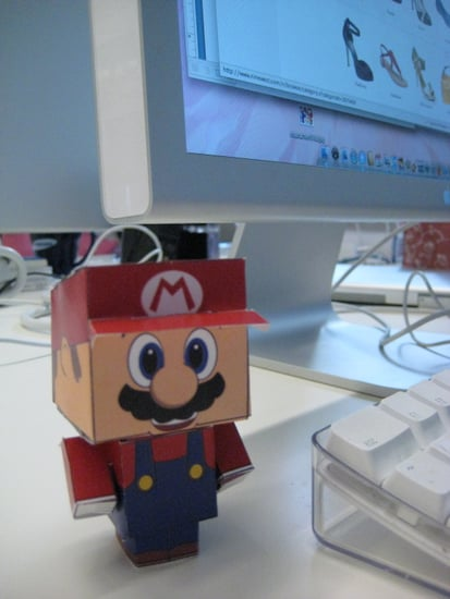 Cubeecraft Website Provides Templates To Print Out and Put Together to Make Free Paper Desk Crafts