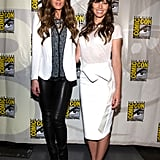 Kate Beckinsale and Jessica Biel Team Up at Comic-Con For Total Recall