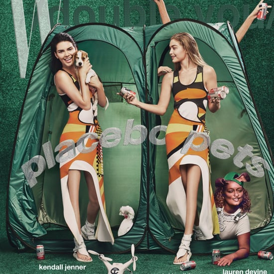 Kendall Jenner and Gigi Hadid W Magazine November 2016