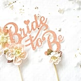 Bride-to-Be Cake Toppers