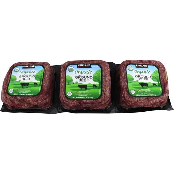 Organic Ground Beef ($20)