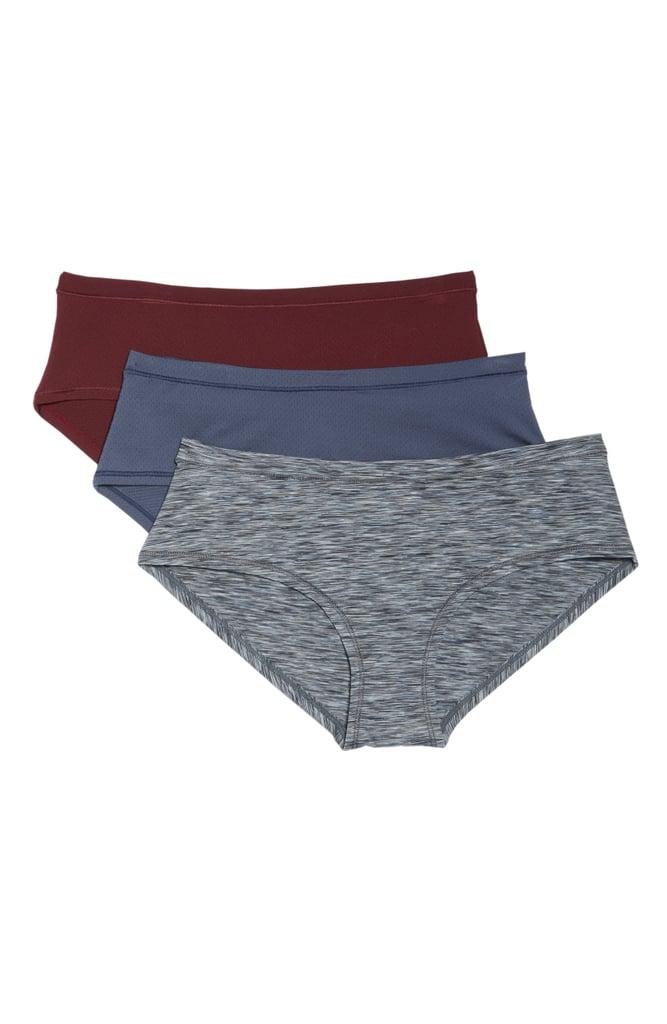 d2be11983663 Zella Body Active 3-Pack Hipster Briefs | Best Athletic Underwear ...