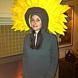 Courteney Cox as a Sunflower