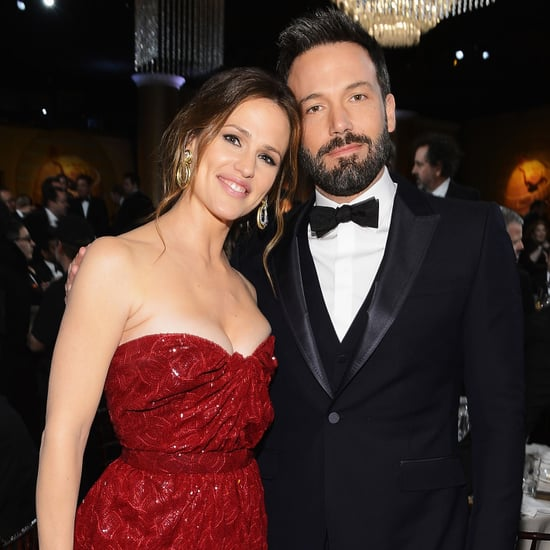 Ben Affleck and Jennifer Garner at the Golden Globes 2013