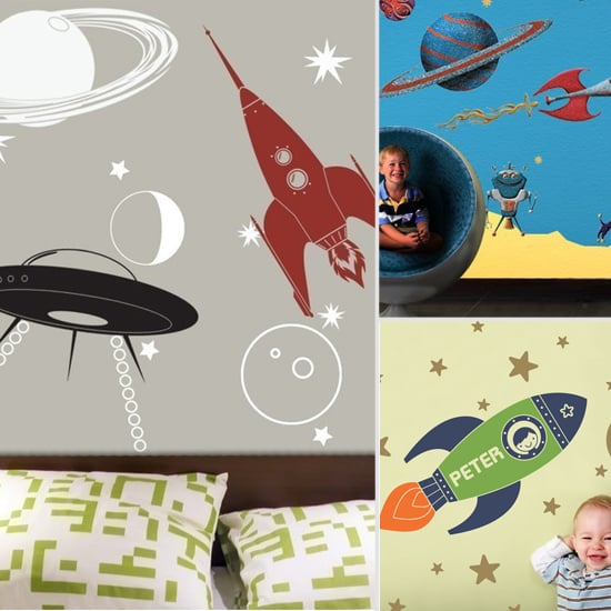 Space-Themed Wall Decals
