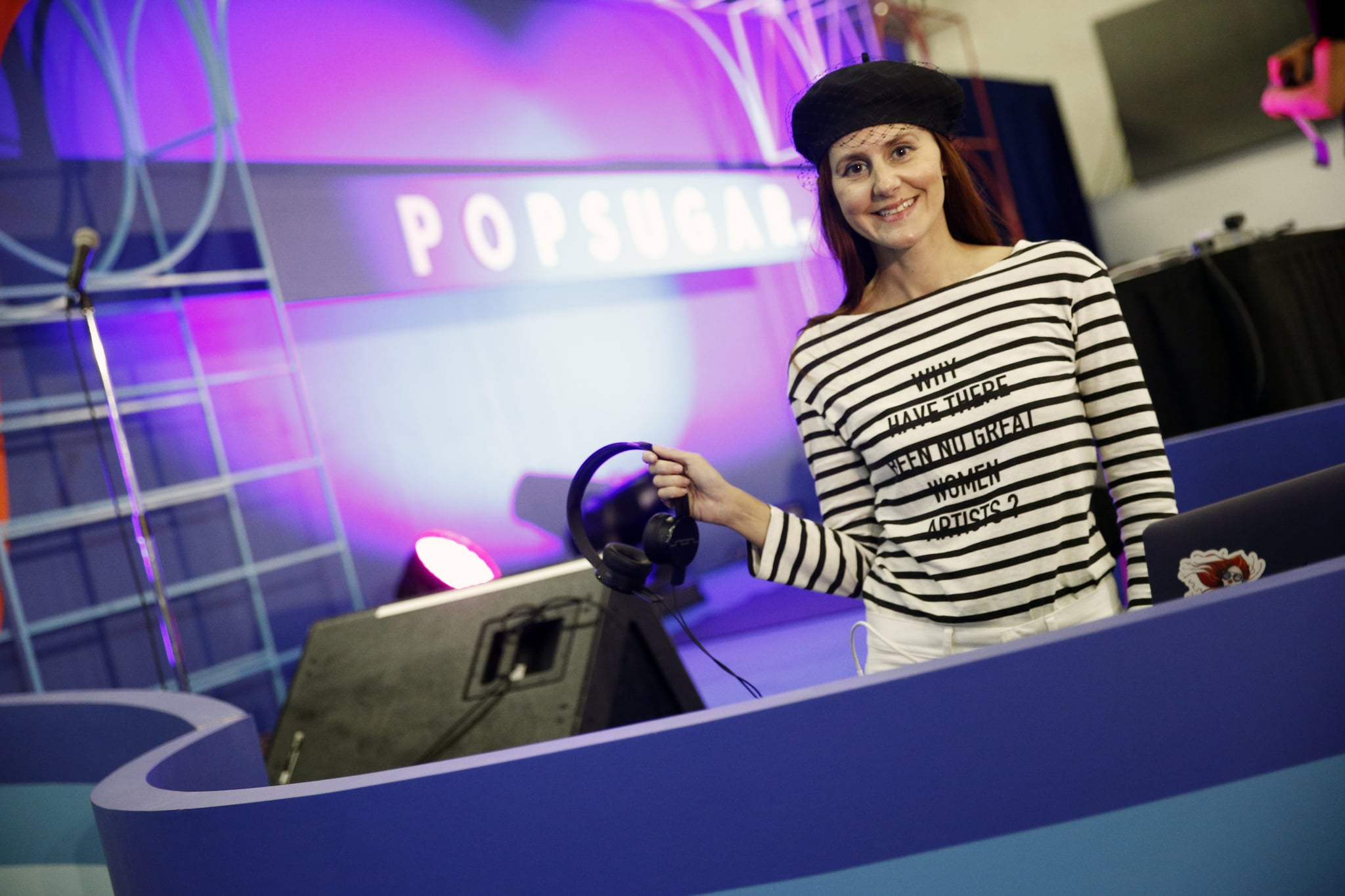 NEW YORK, NY - JUNE 10:  DJ Nikki Pennie attends day 2 of POPSUGAR Play/Ground on June 10, 2018 in New York City.  (Photo by Brian Ach/Getty Images for POPSUGAR Play/Ground)