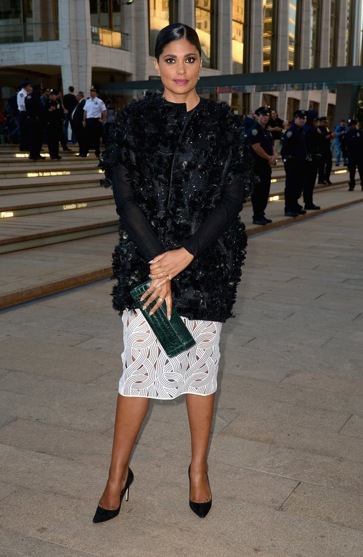 At Lincoln Center, Rachel Roy arrived for the opera in a ...