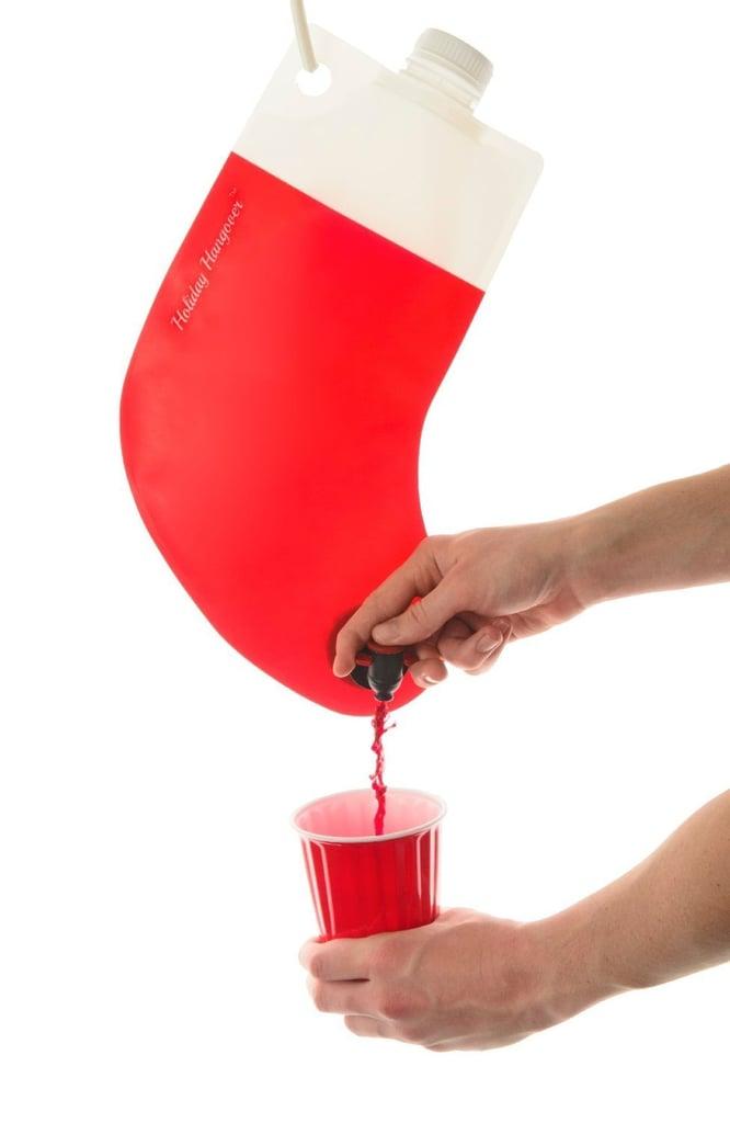 Santa's Stocking Flask