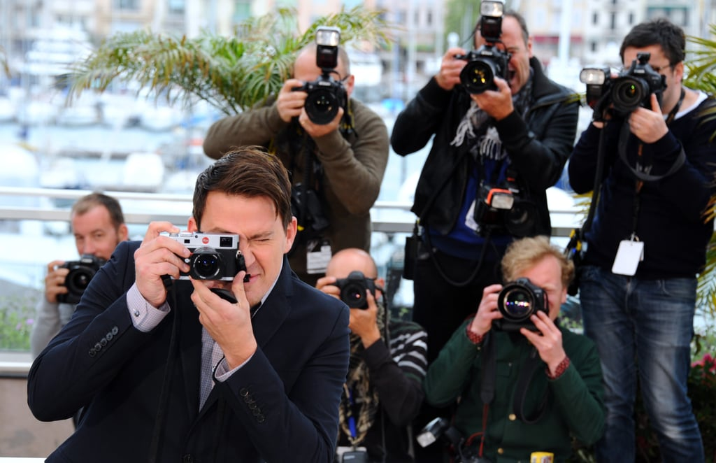 Channing Tatum Taking Pictures at Cannes 2014