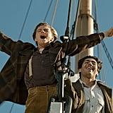Leonardo DiCaprio and Danny Nucci in Titanic.