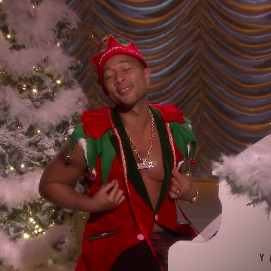 John Legend Sings Sexy Christmas Songs on The Tonight Show