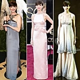 Which of Anne Hathaway's three gowns did you like the best?